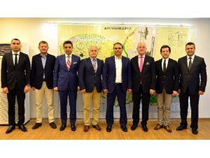 Ansiad Üyeleri Başkan Uysal'ı Ziyaret Etti