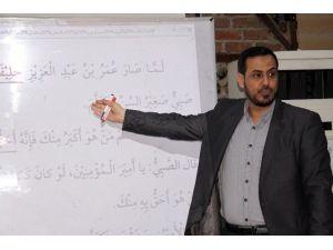 Ülkesindeki Savaş Suriyeli Öğretmenin Bir TEK Mesleğini Değiştiremedi