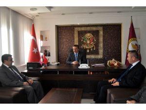 Vergi Dairesi Başkanından Başkan Tutal'a Ziyaret