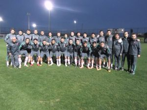 U19 Milli Takım kampı başladı