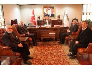 Gazilerden Vali Özdemir'e Ziyaret
