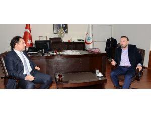 Başkan Doğan'dan Başhekim Karabulut'a Ziyaret