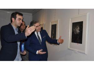 """Bandırma'da """"Portreler"""" Sergisi"""