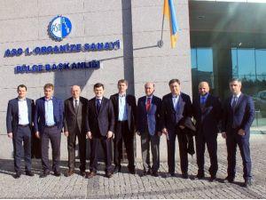 ASO İle Ukrayna Arasında Organize Sanayi Bölgesi İşbirliği