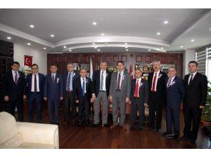 Konya SMMMO'ya Vergi Dairesinden Ziyaret