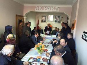 AK Parti İlçe Teşkilatları Ziyareti