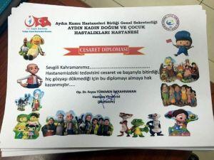 Çocuklara Cesaret Diploması
