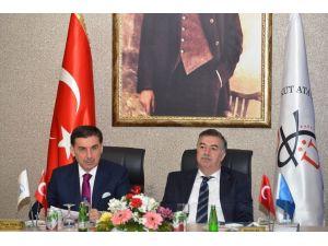 DOĞAKA yönetim kurulu Osmaniye'de toplandı