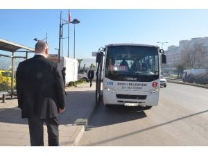 Zabıta'dan Belediye Otobüslerine Güzergah Denetimi