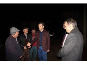 AK Parti Teşkilatı Yangın Bölgesine Gitti