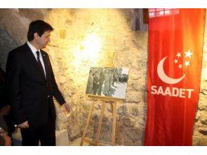 'Necmettin Erbakan' Fotoğraf Sergisi Açıldı