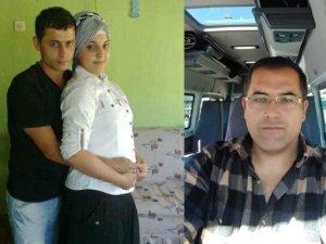 Eşini ve ilişki yaşadığından şüphelendiği minibüsçüyü öldürdü