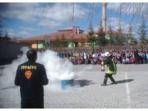 Kulu'da Yangın Semineri Ve Tatbikatları Devam Ediyor