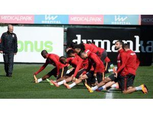 Galatasaray'da Lazıo Maçı Hazırları Başladı