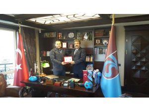 Trabzonspor'a Bursaspor'dan Destek Ziyareti