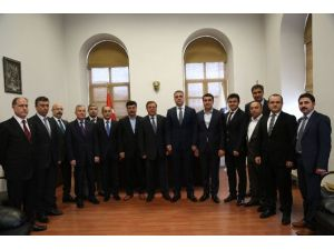 Vergi Dairesi Başkanından DTSO'ya Ziyaret