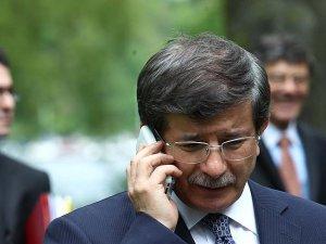 Davutoğlu'ndan Arınç'a taziye telefonu