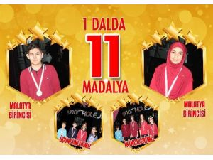 Malatya Çınar Koleji Öğrencileri, Modern Pentatlon Yarışmasında Dereceye Girdi