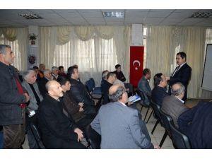 Darende Belediye Başkanı Süleyman Eser, Esnafa Kentsel Dönüşümü Anlattı
