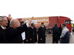 Erzurum'dan Türkmenlere Yardım Eli