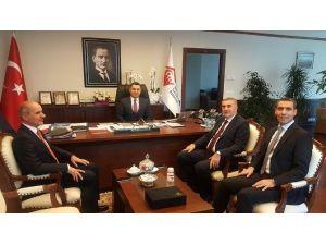 Başkan Zeki Toçoğlu Ankara'da Ziyaretlerde Bulundu