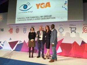 Mobil Dünya Kongresi'nden Turkcell'e Ödül