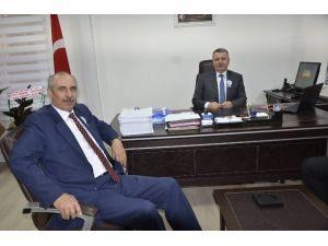 Defterdar Vekili Kul'dan Fatsa Vergi Dairesi'ne Ziyaret
