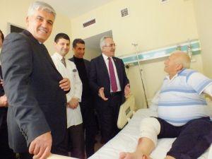 Aydın, Serik Devlet Hastanesini Ziyaret Etti