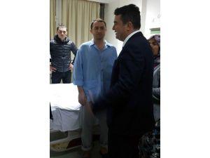 Aydın Milletvekili Baydar, Yaralı Askerleri GATA'da Ziyaret Etti