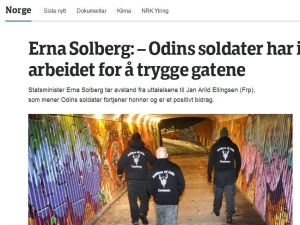 Norveç'te sivillerin kurduğu asayiş ekibi tartışma konusu