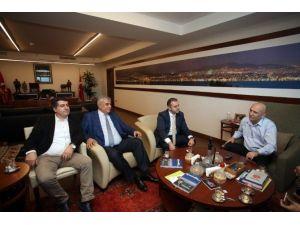 CHP Sancaktepe İlçe Başkanından, Başkan Altınok Öz'e Ziyaret