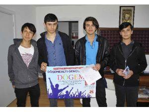 """Döşemealtı """"Genç Vekiller"""" Projesine Büyük Katılım"""