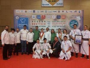 AKÜ, İkinci Ulusal Üniversitelerarası Aşçılık Yarışması'ndan şampiyon oldu