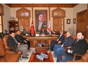 Muradiye Vakfı'ndan Başkan Yağcı'ya Ziyaret