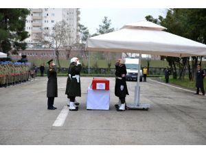 Sur'da şehit olan Uzman Çavuş Dost için uğurlama töreni düzenlendi