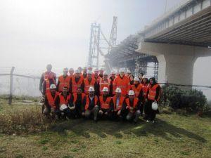 İzmit Belediyesi Personeli Körfez Geçiş Köprüsünü İnceledi