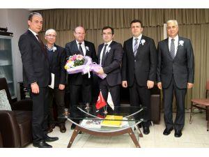 Vergi Dairesi Başkanı Tunalı ÇGC'yi ziyaret etti