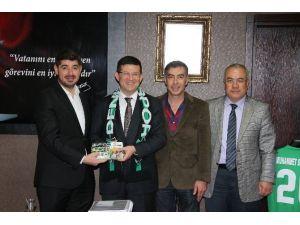 Denizlispor'dan Başkan Subaşıoğlu'na Ziyaret