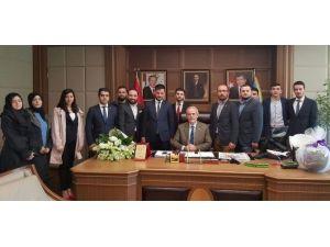 Nilüferli AK Gençlerden Başkan Altepe'ye Teşekkür Ziyareti