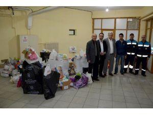 Türkmenlere İlaç Seferberliğine Karacabey'den Büyük Destek