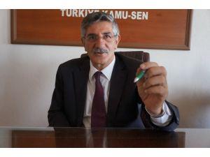 Türk Eğitim Sen Erzurum Şube Başkanı: Eğitim kurumlarının varlığına el konulamaz