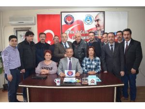 Türk Sağlık-sen Eskişehir-bilecik Şube Başkanı Hüseyin Kararman: