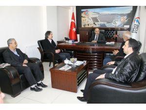 Şanlıurfalı Gazetecilerden Dicle Epsaş'a Ziyaret