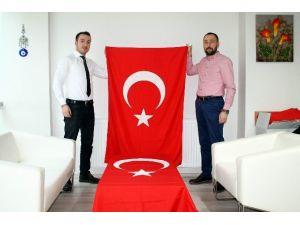 Samsun'dan Şırnak'a 500 Türk Bayrağı