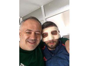 Alima Yeni Malatyaspor'da Ali Sakal Maskeyle Oynayacak