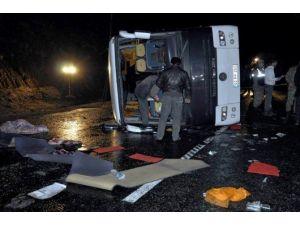 3 Polisin Şehit Olduğu Otobüs Kazasının Şoförüne 10 Yıl Hapis
