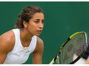 WTA Turu'nda İtalya'n Vinci'ye yenilen Büyükakçay elendi