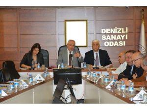 DSO Şubat Ayı Toplantısında Denizli Ekonomisi Konuşuldu