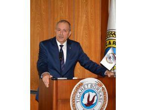 """ATB Başkanı Bilgiç: """"Tarım Ürünlerinde Dışa Bağımlılık Azaltılmalı"""""""