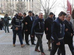Erzurum'daki FETÖ/PDY operasyonunda gözaltına alınanlar adliyede